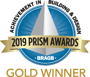 2019 PRISM Awards- Gold Winner - Best Bathroom Remodel